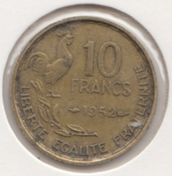 @Y@   Frankrijk   10  Centimes  1952   (4735 ) - Frankreich