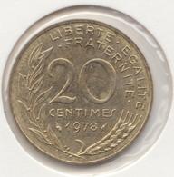 @Y@   Frankrijk   20  Centimes  1978   (4736 ) - Frankreich