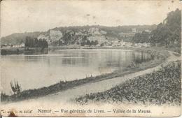 Namur. - Vue Générale De Lives  -  Vallée De La Meuse.  (scan Verso) - Namur
