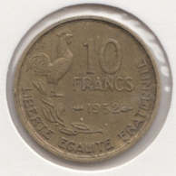 @Y@   Frankrijk   10  Centimes  1952   (4737 ) - Frankreich