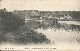 Namur. - Vue Sur La Meuse à  Lives.  (scan Verso) - Namur