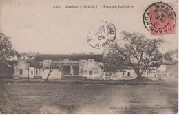 CPA Tonkin - Phu-Ly - Pagode Indigène - Vietnam