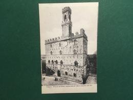 Cartolina Volterra - Palazzo Dei Priori - Cominciato Nel 1208 - 1920 Ca. - Pisa