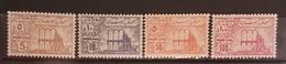 NO11 - Lebanon 1973 Fiscal Revenue Stamps Anjar Issue 5p, 10p, 50p, 100p - MNH - Lebanon