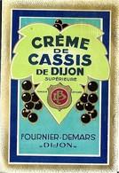 CREME DE CASSIS  DE DIJON  FOURNIER -  DEMARS - Other
