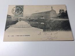 Cp Ath Pont Sur La Dendre 1906 - Ath