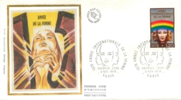 ENVELOPPE PREMIER JOUR 11/1975  ANNEE DE LA FEMME - FDC