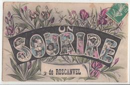 CPA- UN SOURIRE De ROSCANVEL- Dép29-2scans - France