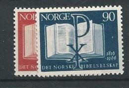 1966 MNH Norwegen, Bible, Postfris - Norvegia