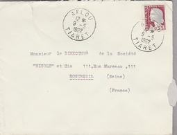 LSC 1962 - Cachet AFLOU  - TIARET - Algérie (1962-...)