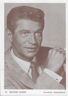 GEORGE  NADER     Universal International - Cartoline