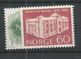 1966 MNH Norwegen, Bank, Postfris - Norvegia