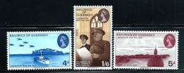 """Guernsey       """"Liberation""""    Set    SC# 30-32    MNH - Guernsey"""