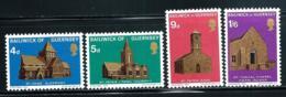 """Guernsey       """"Christmas-Churches""""    Set    SC# 37-40    MNH - Guernsey"""