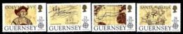 """Guernsey       """"Discovery Of America""""    Set    SC# 467-70    MNH - Guernsey"""