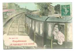 JE PARS DE CAPDENAC... (train En Gare...) - Francia