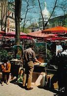 75 Paris Les Peintres De La Place Du Tertre  (2 Scans) - Sacré Coeur