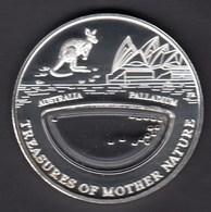 Fiji / 10 Dollars / Treasures Of Mother Nature / Australia - Palladium - Fidschi