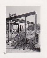 Foto Zerstörtes Gebäude - Ruinen Schutthaufen - Denkmal - 2. WK - 4*3cm  (39800) - Krieg, Militär
