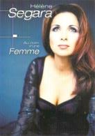 """Carte Postale édition """"Dix Et Demi Quinze"""" - Hélène Segara - Au Nom D'une Femme - Entertainers"""