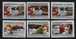 GUINEE  N°  ( 2007 )  * *  Automobile Voiture Kimi Raikkonen - Automobile