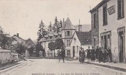 BASVILLE La Rue Du Bourg - Francia