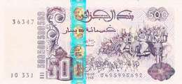 ALGERIA 500 DINARS 1998 (2001) P-141 UNC SIGN. GUERDOUD & LAKSACI [DZ405b] - Algeria
