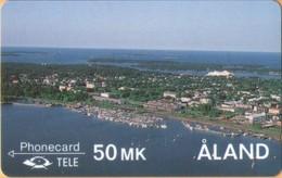 Aland - GPT, 2FINC, 1st Edition, The Galley Albanus, Sailing Ships, 25.000ex, 5/90, Mint - Aland