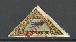 Estland Estonia 1923 Air Mail (*) - Estonie