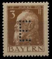 BAYERN DIENSTMARKEN Nr 6 Postfrisch X8844AE - Bayern