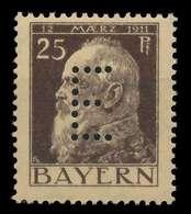 BAYERN DIENSTMARKEN Nr 10 Postfrisch X8844B6 - Bayern