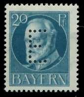 BAYERN DIENSTMARKEN Nr 15 Postfrisch X8844CA - Bayern