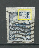 ESTLAND ESTONIA 1920 Michel 17 + ERROR Abart E: 3 O - Estonie