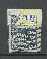 ESTLAND ESTONIA 1920 Michel 17 E: 3 ERROR Variety Abart O - Estonie