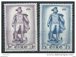 Irlande 1956 N°126/127 Neufs ** MNH John Barry - Nuevos