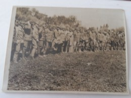 1918+1°GM PRIGIONIERI AUSTRIACI Catturati Da ESERCITO INGLESE-originale PRESS FOTO B/N-L738 - Krieg, Militär