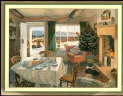 Stephen J; DARBISHIRE  ** NEARLY TEA-TIME ** CP Ecrite En 1994 Mais TBE - Peintures & Tableaux