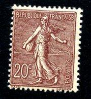 Lot Z830 Type Semeuse Lignées N°131a - 1903-60 Sower - Ligned