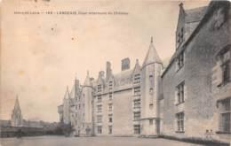 LANGEAIS Cour Interieure Du Chateau 8(scan Recto-verso) MA1768 - Langeais