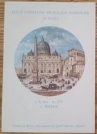 XXXVII CONVEGNO FILATELICO NAZIONALE ROMA - 1983 - Poste San Marino L. 50 - Cartolina Ufficiale - Borse E Saloni Del Collezionismo