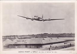 CPSM AVION LE CIEL D'ARTOIS EN VOL - AEROPORT ORLY - Air Afrique DC 4 Vers 1952 - 1946-....: Ere Moderne