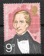 1973 9p Charles Sturt, Mint Never Hinged - 1952-.... (Elizabeth II)