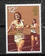 1980 12p Track, Running, Mint Never Hinged - 1952-.... (Elizabeth II)