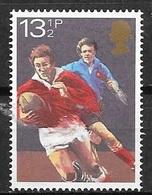 1980 13-1/2p Rugby, Mint Never Hinged - 1952-.... (Elizabeth II)