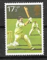 1980 17-1/2p Cricket, Mint Never Hinged - 1952-.... (Elizabeth II)