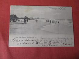 Rotograph  The Beach   Southampton    - New York > Long Island        Ref 3181 - Long Island