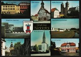 Niddatal  -  Mehrbild-Ansichtskarte Ca.1970   (9921) - Wetterau - Kreis