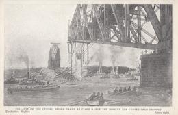 Vintage - Collapse Pont Québec Bridge - Catastrophe - Écroulement - 2 Scans - Disasters