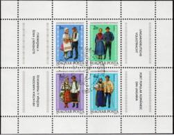HUN SC #2713 U SS 1981National Costumes CV $1.90 - Blocks & Sheetlets