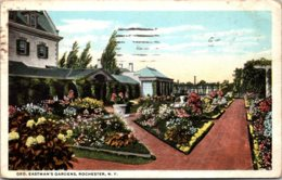 New York Rochester George Eastman's Gardens 1920 - Rochester